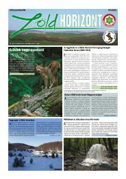 Zöld Horizont 12. - Bükki Nemzeti Park