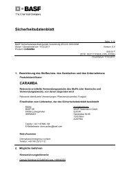 caramba - BASF Pflanzenschutz Österreich