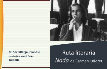 Nada de Carmen Laforet - Materiales de Lengua y Literatura