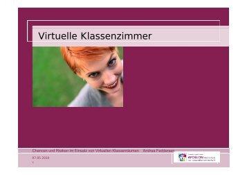 Virtuelle Klassenzimmer - Bildungsbuero Koeln eV