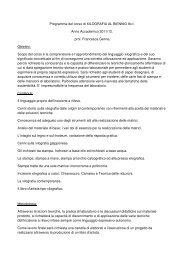 Xilografia - Accademia di Belle Arti di Palermo