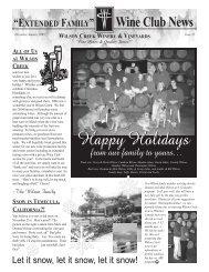 Issue 21 - Wilson Creek Winery