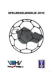 Spelregels aangepast 2010 - vhv handbalbase