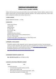 ZADÁVACÍ DOKUMENTACE _Nákup_1etapa.pdf - kraj bez korupce