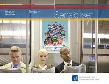 Rapport annuel 2010/2011 (format PDF) - Advertising Standards ...