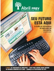 2007 - Abril - Relatório Anual de 2006 - AbrilPREV