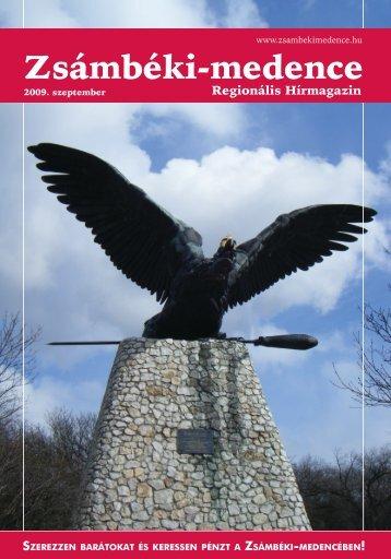 2009 SZEPTEMBER PDF-ben letölthető (6 MB) - Zsámbéki-medence