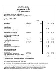 eneregio Gmbh Stromversorgung Rastatter Str. 14-16 76461 ...