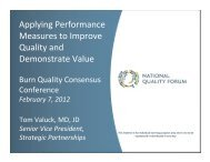 Applying Performance Measures to Improve Quality and ...