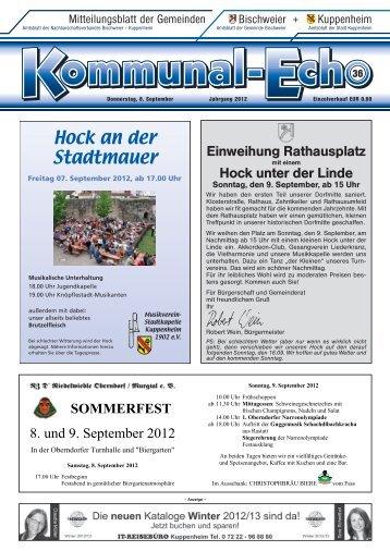 am 19. September 2012 - Stadt Kuppenheim: Home