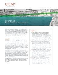 Cadence OrCAD Capture CIS Tech Brief