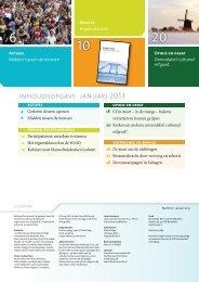 inhoudsopgave januari 2013 - CDA