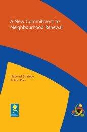 A New Commitment to Neighbourhood Renewal - University of Bristol