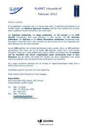 Nieuwsbrief juni 2012 - Utrecht Digestive Center
