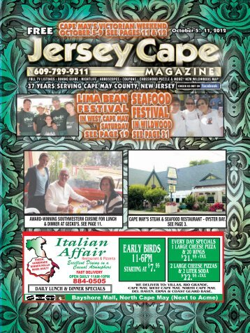 open daily! - Jersey Cape Magazine