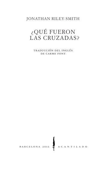 ¿QUÉ FUERON LAS CRUZADAS? - Acantilado