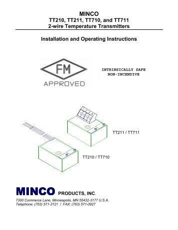 minco tt176 rtd temperature transmitter rh yumpu com How RTD Works 4 Wire RTD Cable