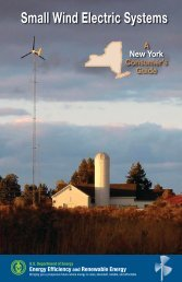 Small Wind Electric Systems: A New York Consumer's Guide