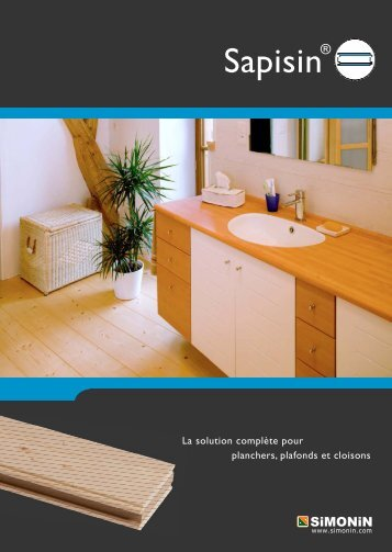 Plaquette SAPISIN A3 - Simonin Bois