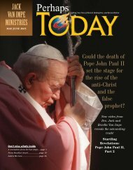 About Pope John Paul II - Jack Van Impe Ministries