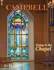 Chapel - Campbell University