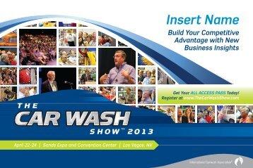 Education Brochure - International Carwash Association