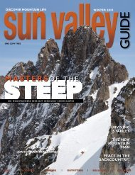 cover 2.indd - Sun Valley Guide