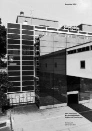 Inselspital, Wirtschaftsgebäude - Bau-, Verkehrs - Kanton Bern