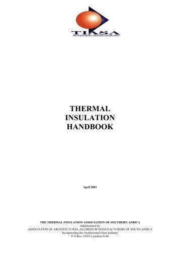 Thermal Insulation Handbook 2001 - aaamsa