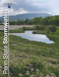 Stormwater Magazine - Office of Physical Plant - Penn State University