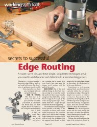 Edge Routing - gerald@eberhardt.bz