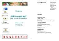 """Kongress """"Bildung gelingt!"""" - Haller Tagblatt"""