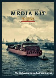 media kit - Advertising - The Maritime Executive