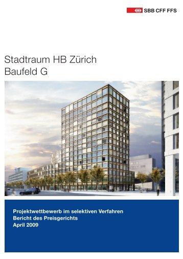 2009 - Jurybericht SBB Baufeld G, 82 S., 7.1 - Europaallee