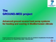 milos site (greece) - GROUND-MED project