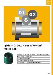 iglidur® D: Low-Cost-Werkstoff mit Silikon - Igus