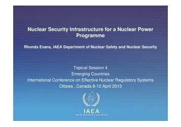 06 IAEA Rhonda Evans - gnssn - International Atomic Energy Agency