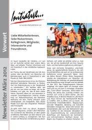 Gender - Initiative zur sozialen Rehabilitation eV