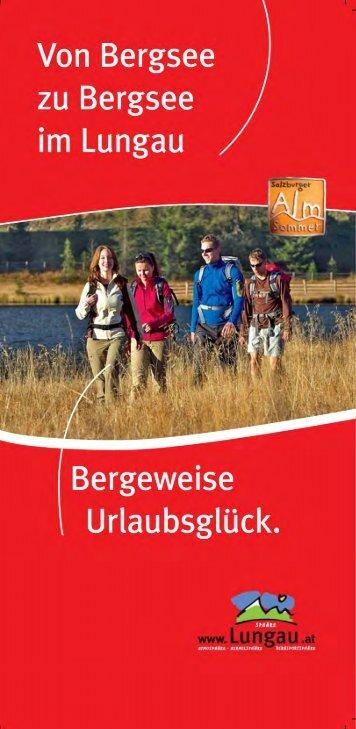 Von Bergsee zu Bergsee - St. Margarethen