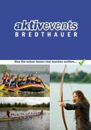 AktivEventsBredthauer Prospekt 2013 zum Download (4 MB)