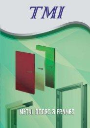 Metal Doors & Frames Brochure - AEC Online
