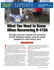 What You Need to Know When Recovering R-410A - Yellow Jacket