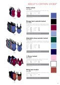 Adult'S COttON lyCrA® - Page 4