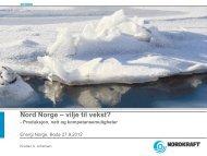 Vilje til vekst? - Energi Norge