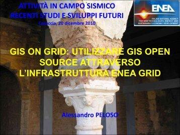 GIS on GRID - Enea