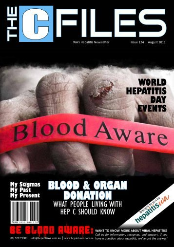 BLOOD & ORGAN DONATION - HepatitisWA
