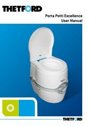 Porta Potti Excellence User Manual