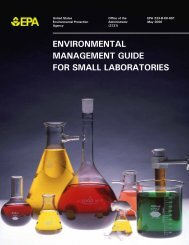Environmental Management Guide for Small Laboratories - US ...