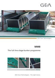 The full-line silage-bunker programme - Mullerup