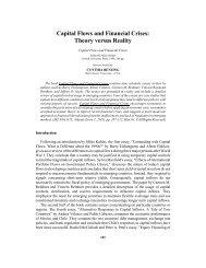 Capital Flows and Financial Crises - International Atlantic Economic ...